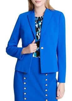 Calvin Klein Notch Lapel Jacket