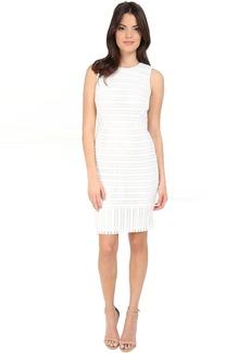 Calvin Klein Novelty Fabric Sheath Dress CD6M2T8N