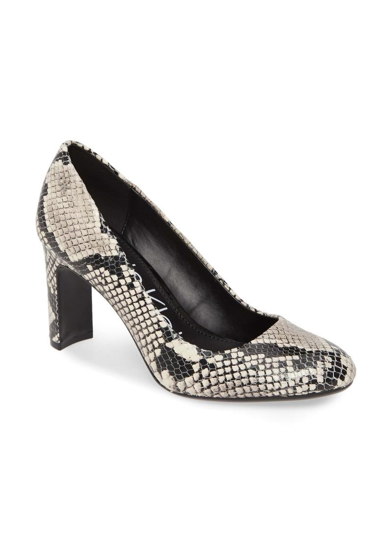 Calvin Klein Octavia Block Heel (Pump)