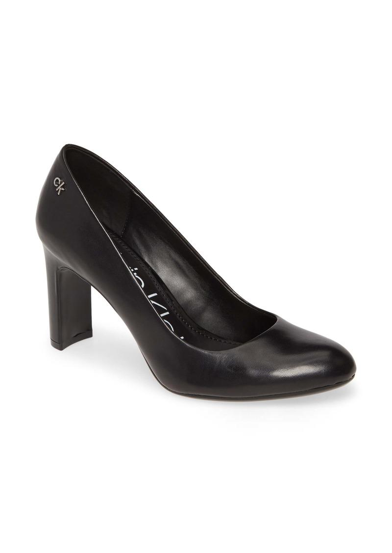 Calvin Klein Octavia Block Heel Pump (Women)