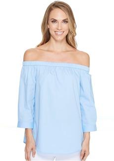 Calvin Klein Off Shoulder 3/4 Sleeve Top