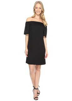 Calvin Klein Off the Shoulder Dress