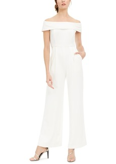 Calvin Klein Off-The-Shoulder Jumpsuit