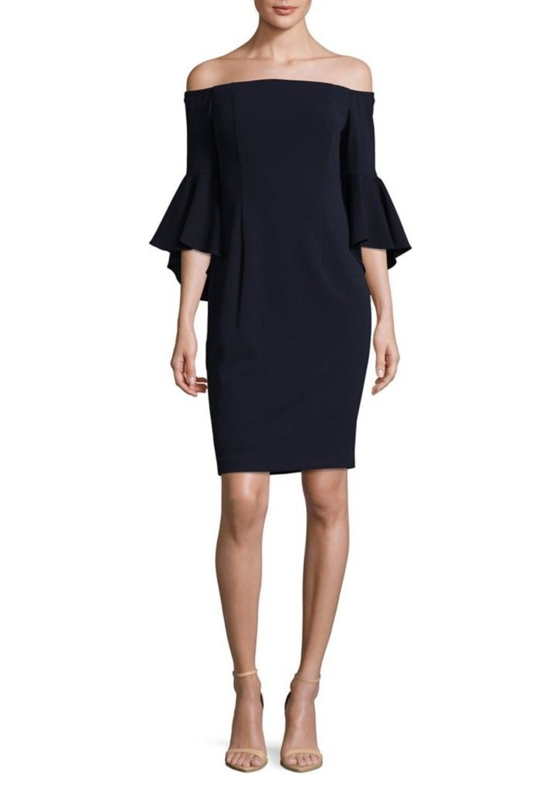 11482f40 SALE! Calvin Klein Calvin Klein Off-The-Shoulder Sheath Dress