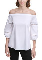 Calvin Klein Off-The-Shoulder Top