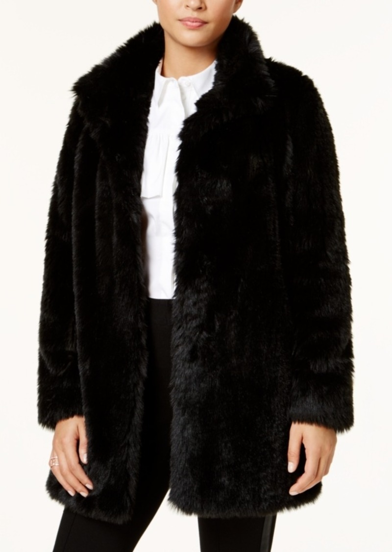 Calvin Klein Faux-Fur Coat