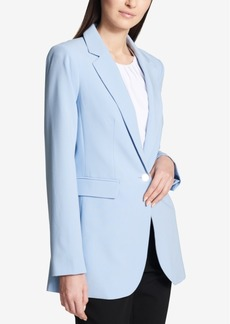 Calvin Klein One-Button Topper Jacket