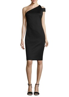 Calvin Klein One-Shoulder Bodycon Dress