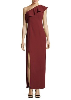 Calvin Klein One-Shoulder Dress