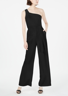 Calvin Klein One-Shoulder Jumpsuit