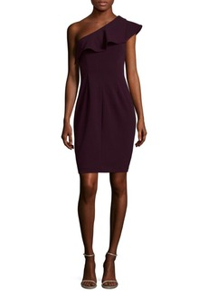 Calvin Klein One Shoulder Mini Dress