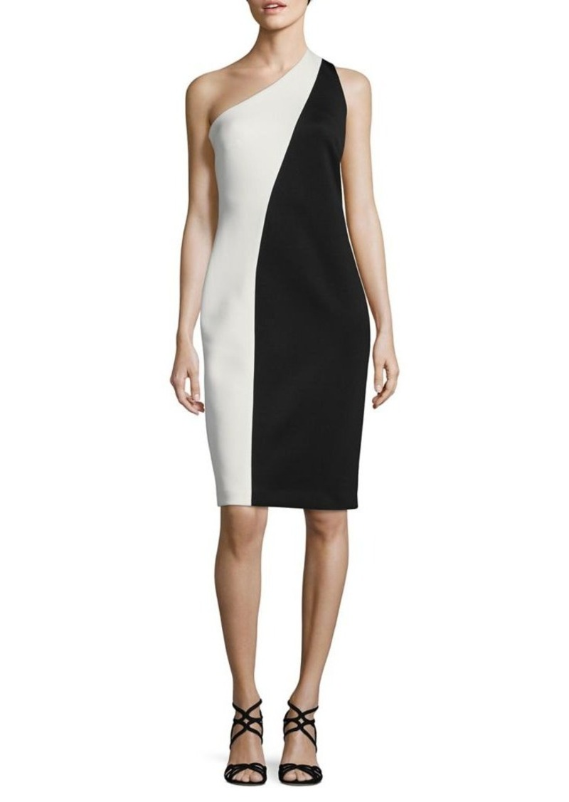 49a9eaf6 SALE! Calvin Klein Calvin Klein One-Shoulder Sheath Dress