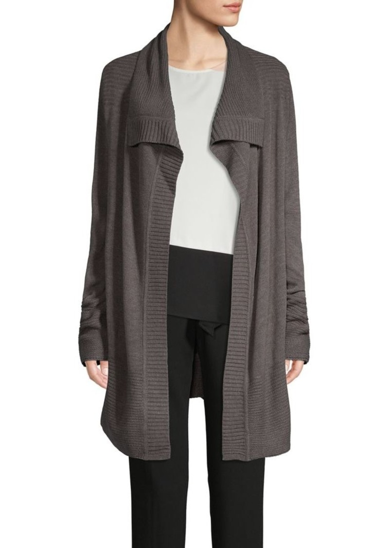 Calvin Klein Open-Front Chunky Knit Cardigan