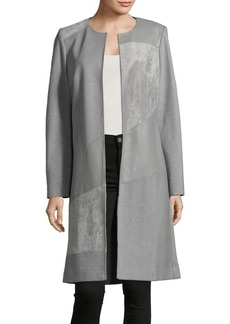 Calvin Klein Open Front Long Jacket