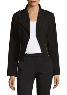 Calvin Klein Open Front Moto Jacket