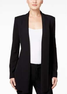 Calvin Klein Open-Front Soft Jacket