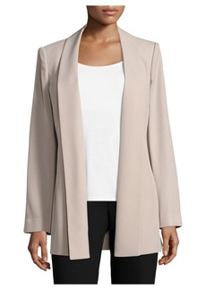 Calvin Klein Open-Front Solid Jacket