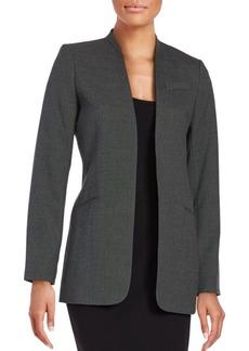 Calvin Klein Open Front Textured Jacket