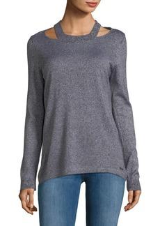 Calvin Klein Open Shoulder Pullover