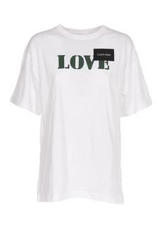 Calvin Klein Oversize T-shirt With Love Print