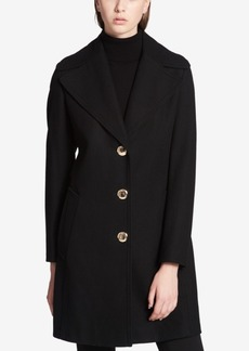 Calvin Klein Oversized-Collar Walker Coat
