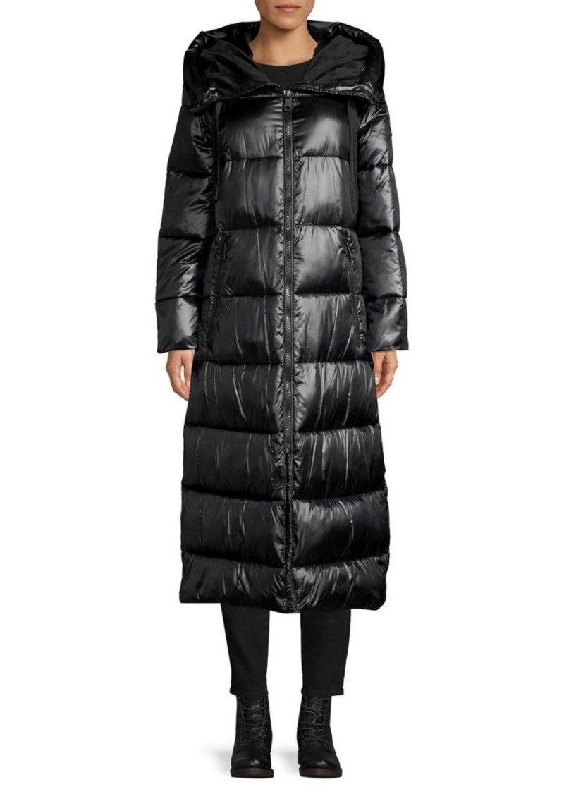 Calvin Klein Oversized Hood Puffer Coat