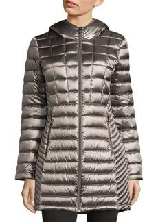 Packable Down Hooded Jacket