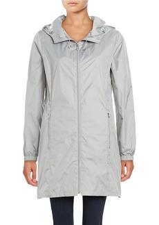 CALVIN KLEIN Packable Logo Rain Jacket
