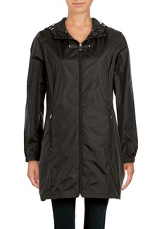 Calvin Klein Packable Logo Rain Jacket
