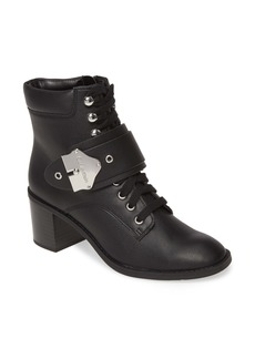 Calvin Klein Pahi Lace-Up Bootie (Women)