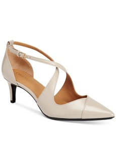 Calvin Klein Pamette Crisscross Pumps Women's Shoes