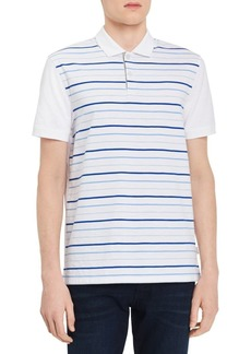 Calvin Klein Paneled-Stripe Polo