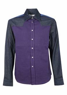 Calvin Klein Patchwork Denim Shirt