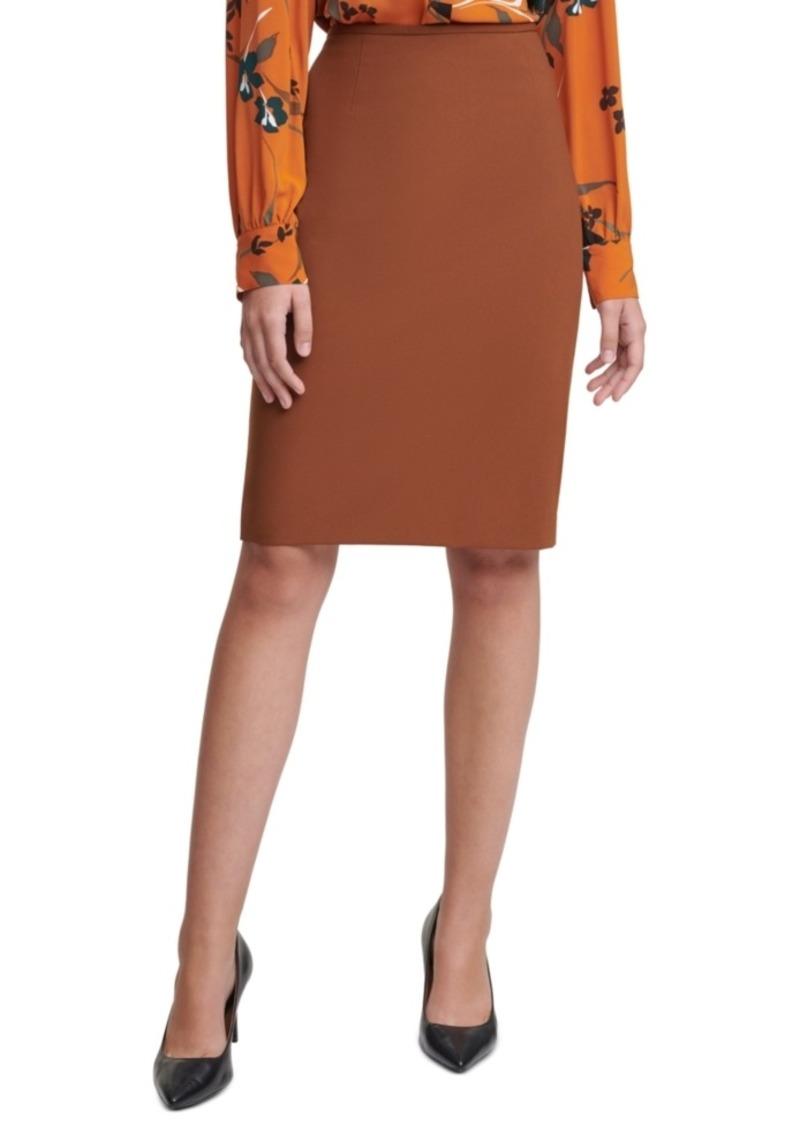 Calvin Klein Pencil Skirt, Regular & Petite Sizes