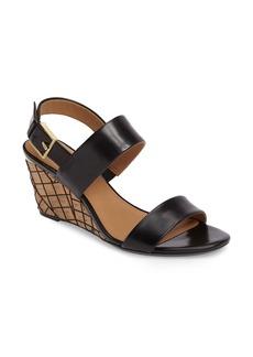 Calvin Klein Peony Wedge Slingback Sandal (Women)