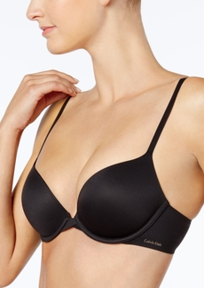 8ed5aaf6e1 Calvin Klein Perfectly Fit Plunge Push Up Bra QF1120