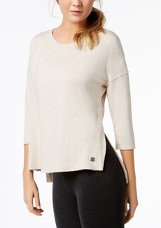 Calvin Klein Performance 3/4-Sleeve Drop-Shoulder Top