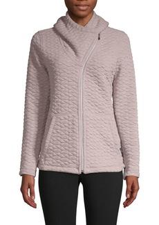 Calvin Klein Performance Asymmetric Full-Zip Jacket
