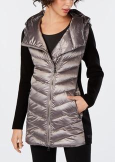 Calvin Klein Performance Asymmetrical Puffer Jacket