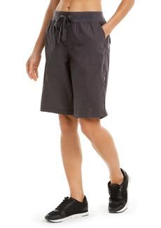 Calvin Klein Performance Camo Convertible Cargo Bermuda Shorts