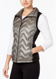Calvin Klein Performance Chevron Quilted Vest, Created for Macy's