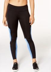 Calvin Klein Performance Coldgear Brushed Fleece Colorblocked Leggings