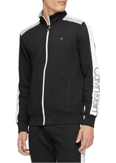 Calvin Klein Performance Colorblock Full-Zip Sweatshirt