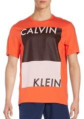 Calvin Klein Performance Colorblock Graphic Tee