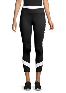 Calvin Klein Performance Colorblock Logo Crop Leggings
