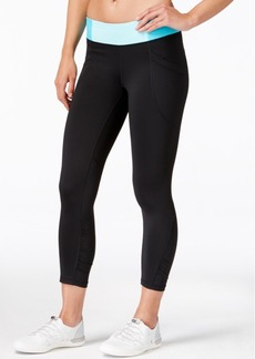 Calvin Klein Performance Colorblocked Cropped Leggings