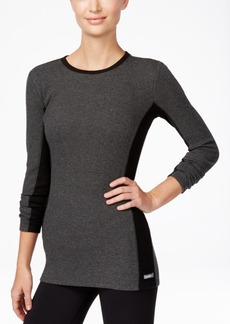 Calvin Klein Performance Thermal Colorblocked Long-Sleeve Top