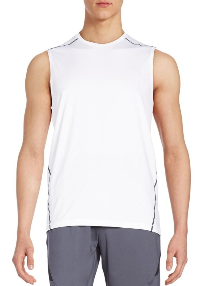 Calvin Klein Performance Contrast-Trim Muscle Tank