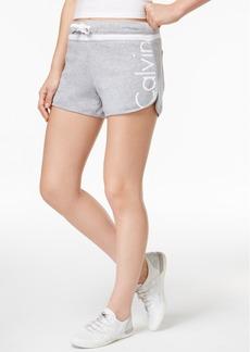 Calvin Klein Performance Cotton Logo Running Shorts