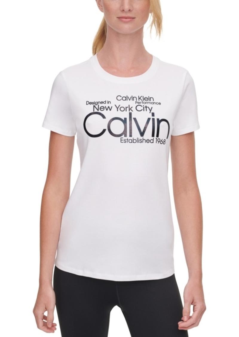 Calvin Klein Performance Cotton Logo T-Shirt